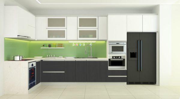 Không gian bếp hiện đại - Nhôm kính Thanh Bình